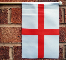 ENGLAND ST GEORGE - HAND WAVING FLAG (MEDIUM)